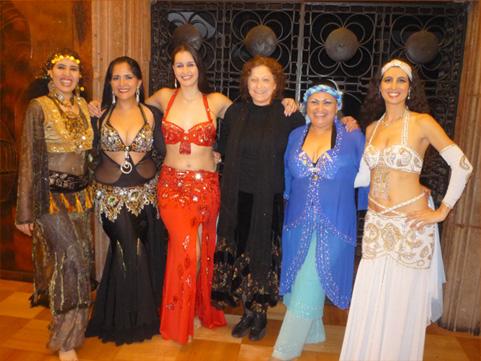 18° ENCUENTRO DE DANZA ORIENTAL – Agosto 2009  con la bailarina tunecinaNARJESS MONTASSER